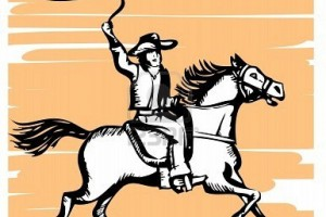 8697584-cowboy-on-horse-with-lasso-graphic