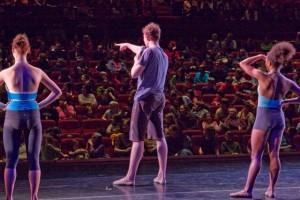 Trey McIntyre Project dancersa the Morrison Center