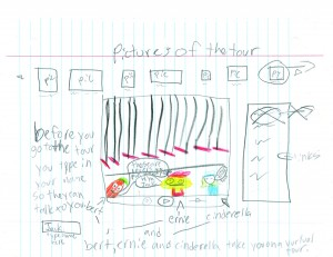 A student's design for CTC's website