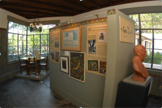 The multidisciplinary permanent exhibition featuring the history of the Research Studio and work by artists who were connected with the space.