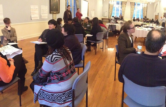 New York's New Pathways for Arts Development program creates and advances a learning network for the City's arts service organizations around collaboration, innovation, and adaptive change.