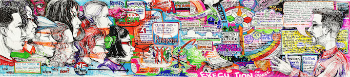 The full depiction of Alternate ROOTS's ideas and work from their Innovation Lab retreat, as illustrated by Ariston Jacks. Click to enlarge. Image: Alternate ROOTS.