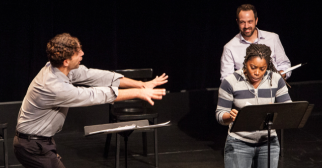 "A reading of ""Love/Sick"" (by John Cariani) from Geva's Festival of New Theatre. Image: Geva Theatre Center."