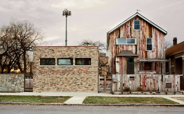 The Dorchester Projects in Chicago. Credit Sara Pooley/Theaster Gates Studio