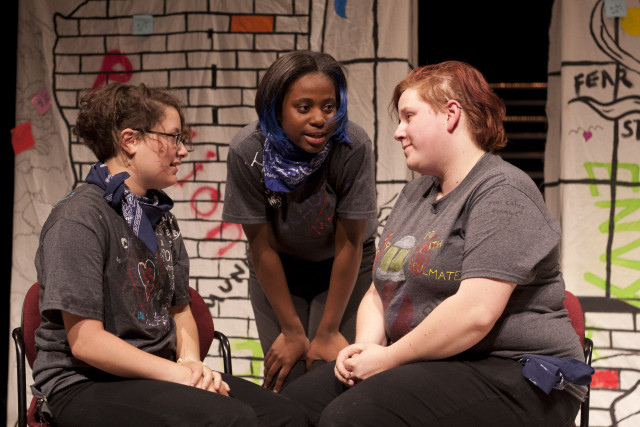 True Colors: Out Youth Theater Troupe performance.